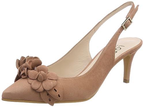 a1c0bb51 lodi ELODEA, Zapatos de tacón con Punta Cerrada para Mujer, Rosa Rubor, 38  EU: Amazon.es: Zapatos y complementos
