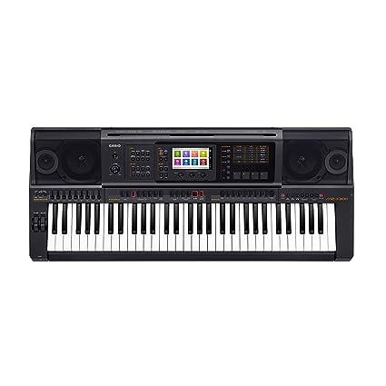Casio MZ-X300 - Teclado MIDI (Botones, Tocar, Corriente alterna, Corriente