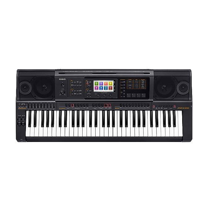 Casio MZ-X300 - Teclado MIDI (Botones, Tocar, Corriente alterna, Corriente alterna, LCD, USB): Amazon.es: Instrumentos musicales