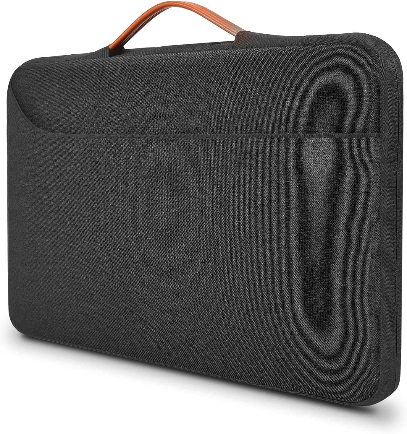 15.6 inch Laptop Case Water Resistant Computer Briefcase Bag for HP Envy X360 2-in-1 15.6