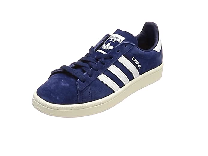 Adidas Campus Schuhe Herren blau (Dark Blue) mit weißen Streifen