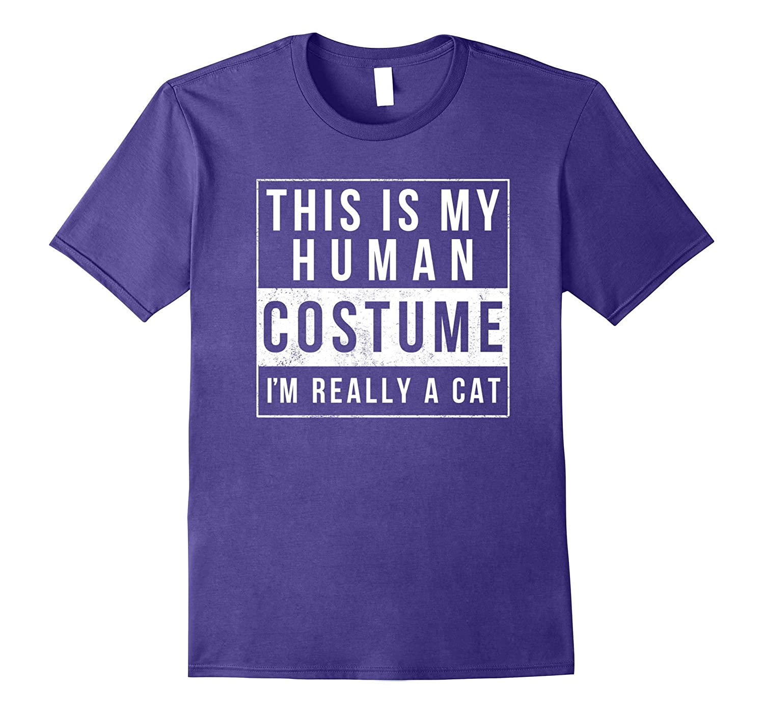 I'm Really A Cat Costume Halloween Shirt Funny Gift-FL