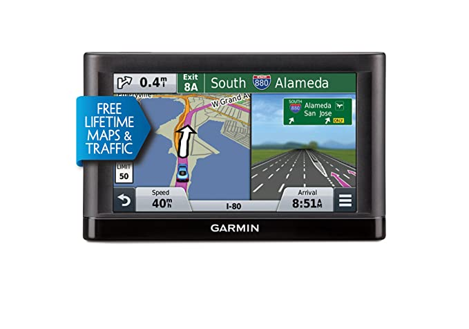garmin nvi 66lmt gps navigator system with spoken turn by turn directions preloaded