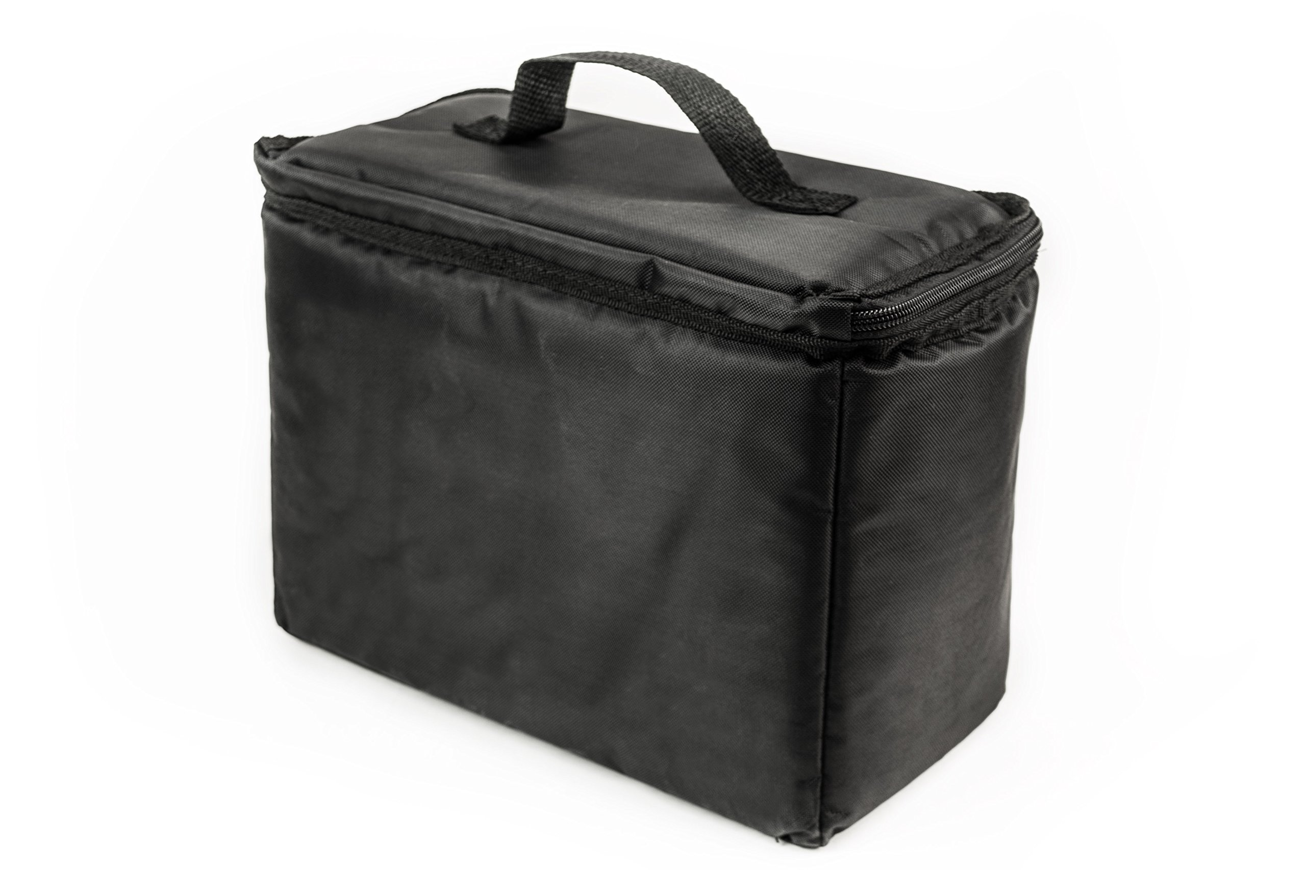 AutoExec AETote-08 Black/Grey File Tote with One Cooler and One Hanging File Holder by AutoExec (Image #6)