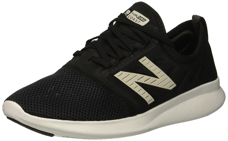 Noir blanc New Balance Fuel Core Coast V4, Running Femme 35 EU