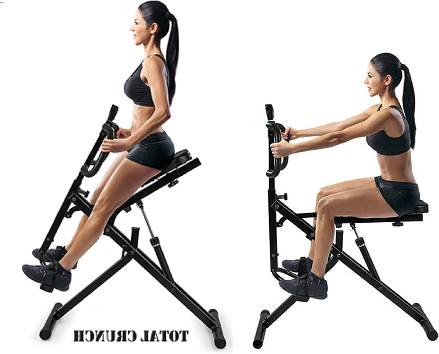 Total Crunch Power Rider Fitness Abdo Cruncher Abs Exercise Full Body Workout