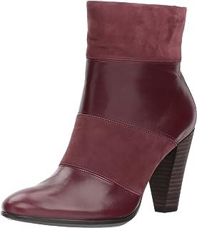 Ecco Damen Shape 75 Round Elegant Stiefel, Schwarz (Black