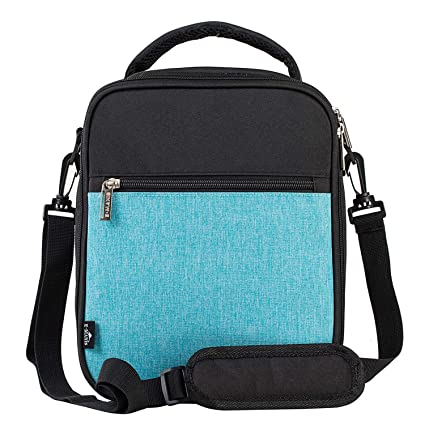 Image Unavailable. Image not available for. Color  E-manis Insulated Lunch  Bag Lunch Box Cooler Bag with Shoulder Strap for Men Women 0c703c91db087