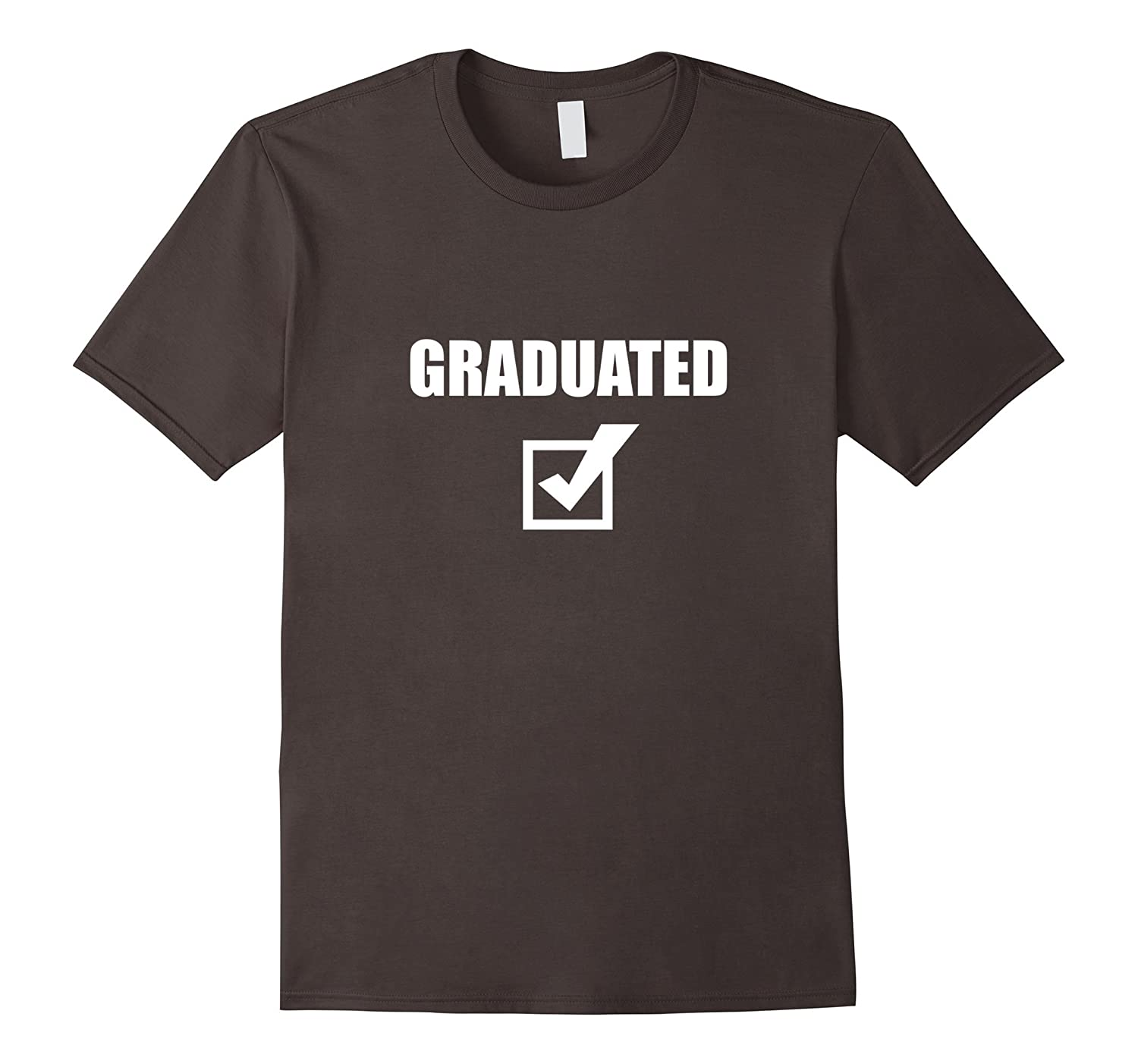 Funny Graduation T-Shirt - Graduated Check-TH