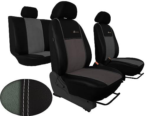 Fundas para asientos rojo//negro ene audi 80 b4
