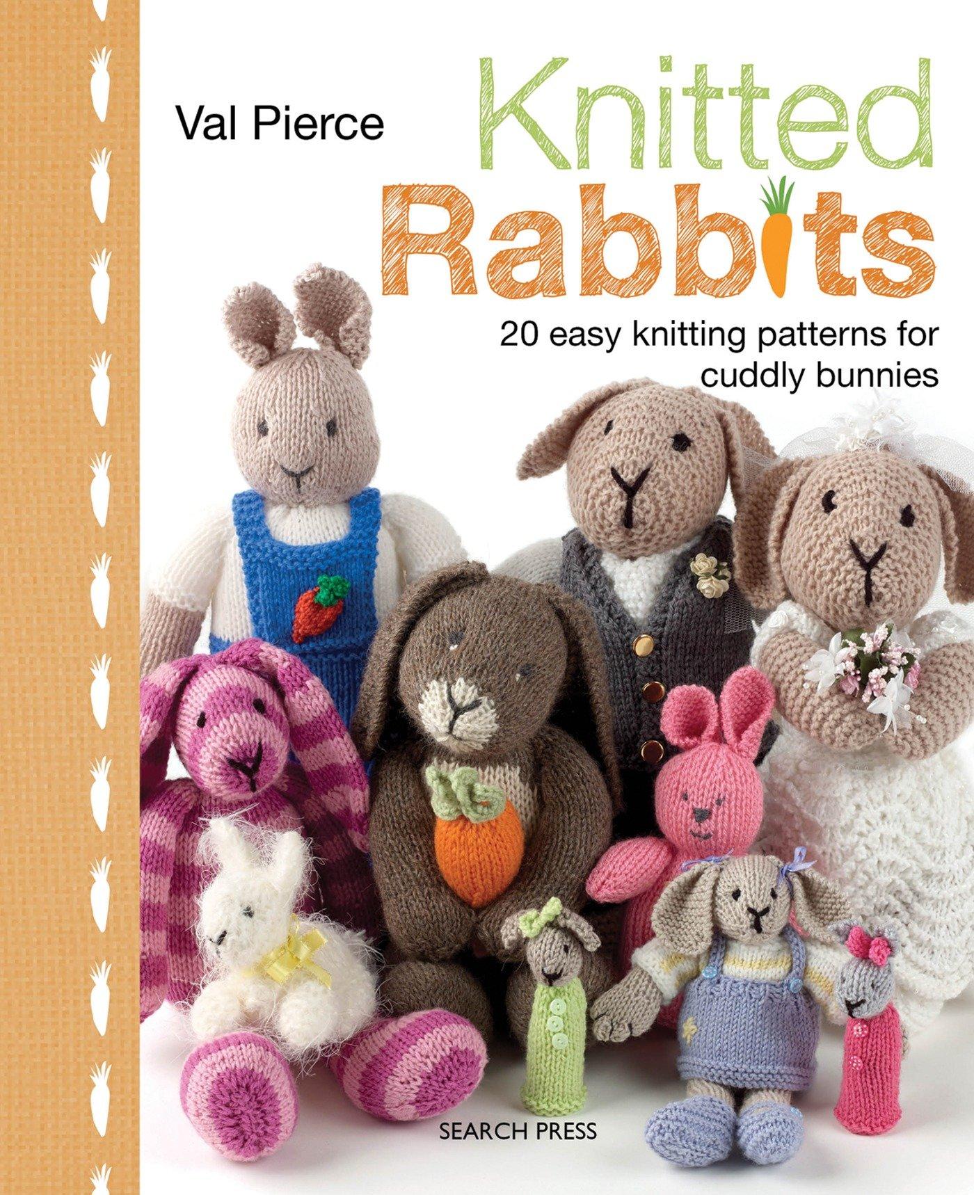 Knitted Rabbits: Amazon.co.uk: Val Pierce: 9781844488674: Books