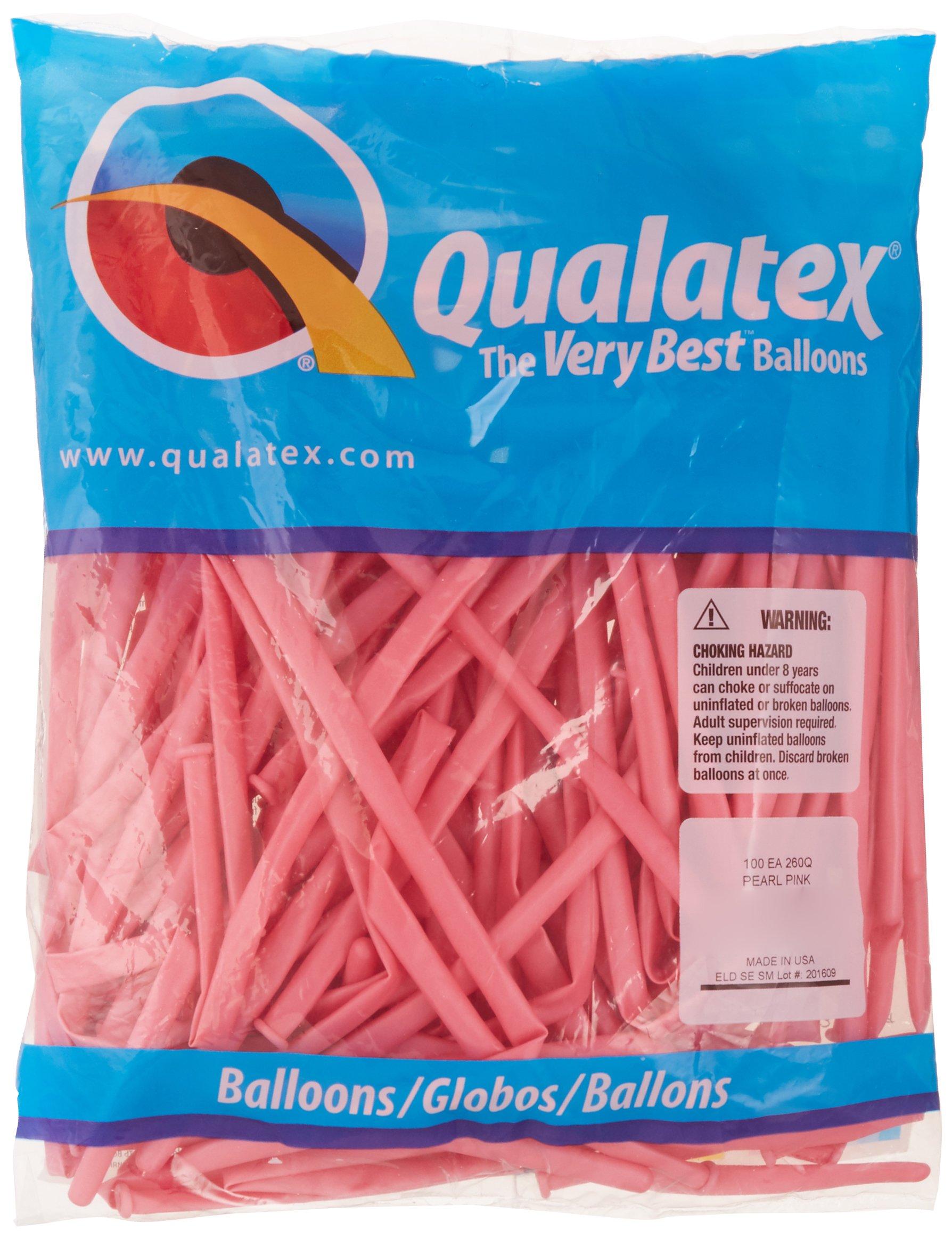 260Q Pack of 100 Anagram International Qualatex 99321 Carnival Assortment Latex Balloons Multicolor