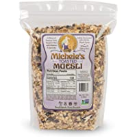 Michele's Granola Muesli, Toasted Muesli Cereal, 3 LB Bulk Bag, Gluten-Free, No Refined Sugar & Non GMO Project Verified