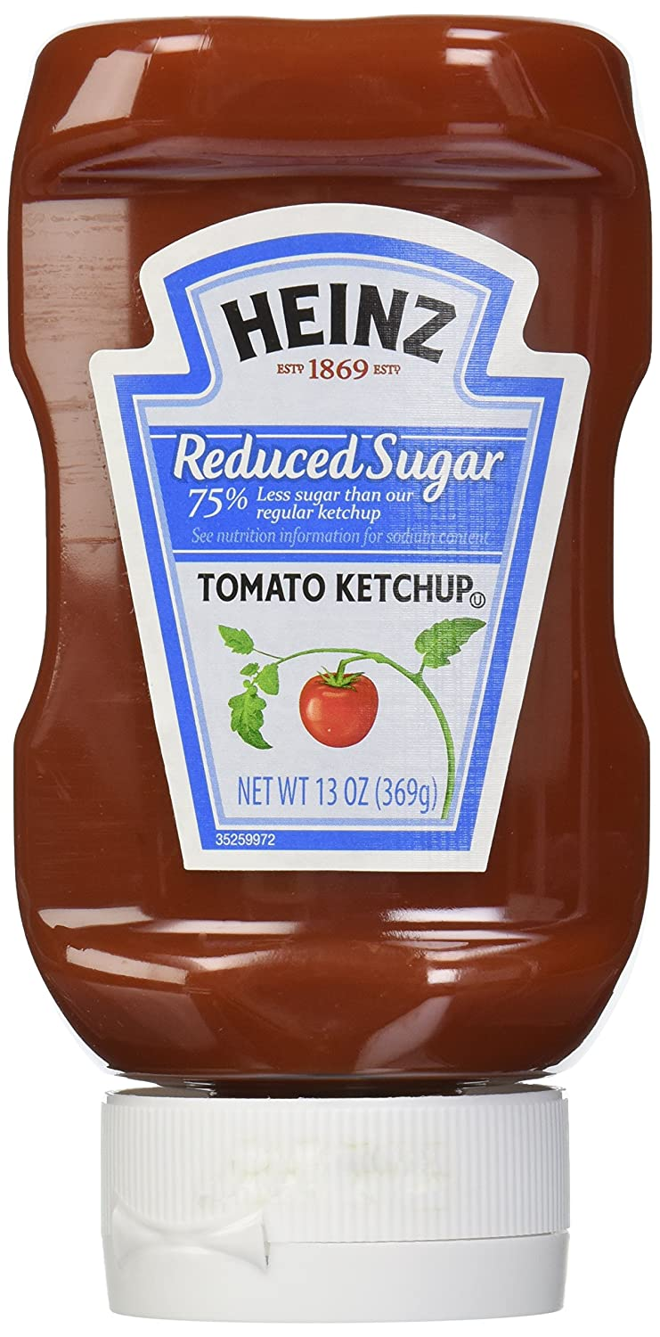 Heinz Tomato Ketchup, Reduced Sugar, 13 Ounce