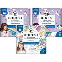 The Honest Company Training Pants | Club Box | Unicorns & Fairies, 4t5t, 57ct, 57 Count