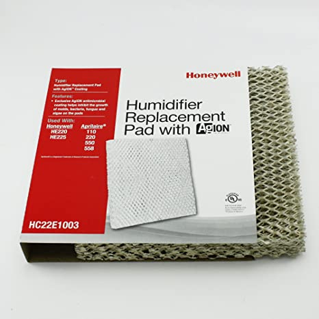 amazon com honeywell hc22e1003 he225 humidifier pad with agion rh amazon com Honeywell Enviracaire Elite He265a Do I Need to Change Honeywell Enviracaire Elite Humidifier Filter