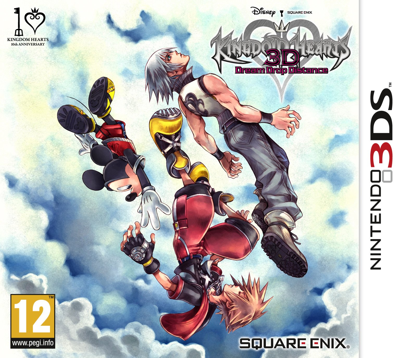 Kingdom Hearts 3D: Dream Drop Distance /3DS