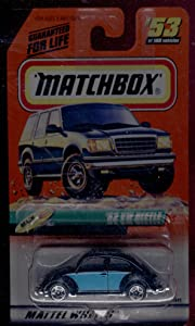 Matchbox 1998-53 of 100 Series 11 Beach '62 Vw Beetle 1:64 Scale