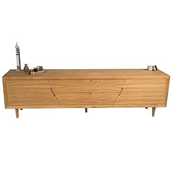treesure lowboard a eiche massiv massivholzlowboard sideboard wohnwand kommode wohnzimmerschrank