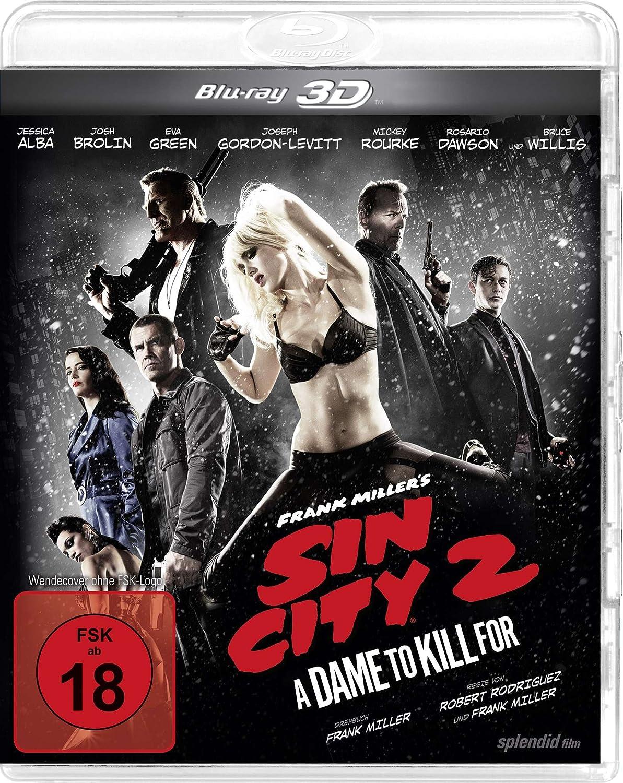 Sin City 2 3D Blu-ray amazon