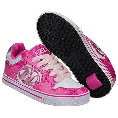 Heelys PLUS X2 Girls Boys Heelys Trainers Roller Skate Shoes UK size