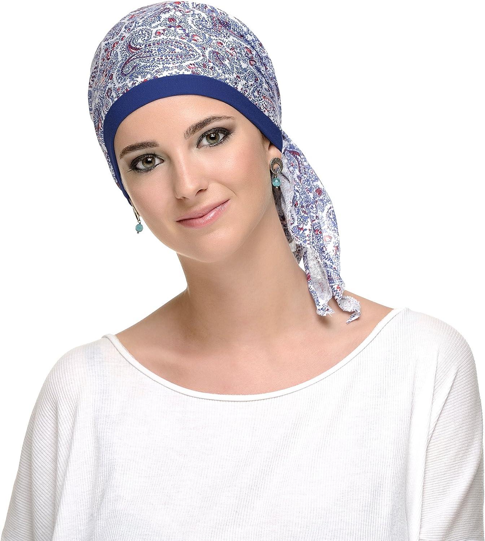 Pañuelo oncologico Cash.mare para mujeres con cancer, alopecia ...