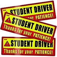 psler Student Driver Magnet for Car,be Patient Student Driver Magnet Boys and Girls New Student Driver Sticker Safety…