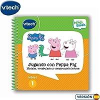 VTech - Libro Jugando con Peppa Pig, comprensión
