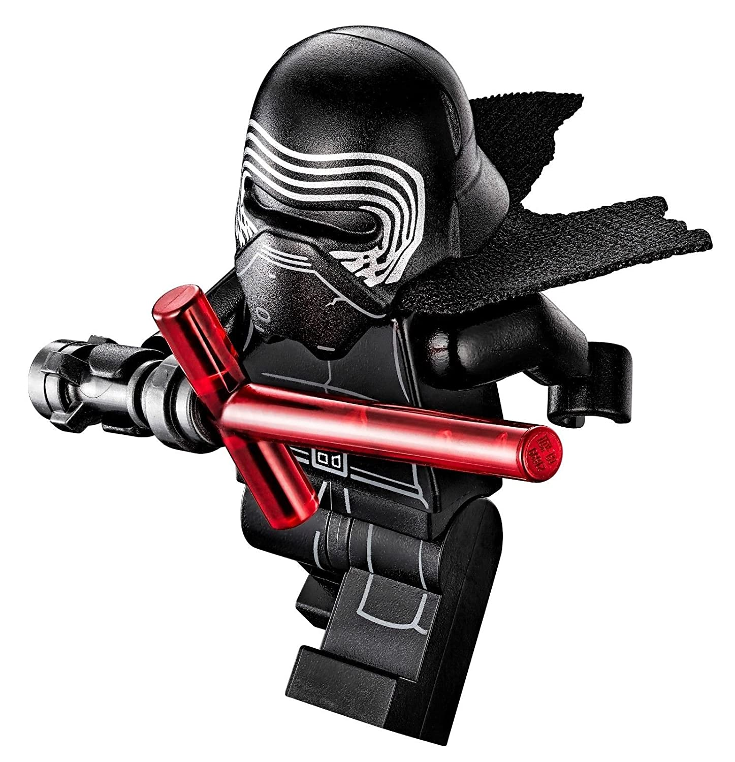 Amazon com lego star wars kylo ren minifigure from set 75104 w accessories toys games