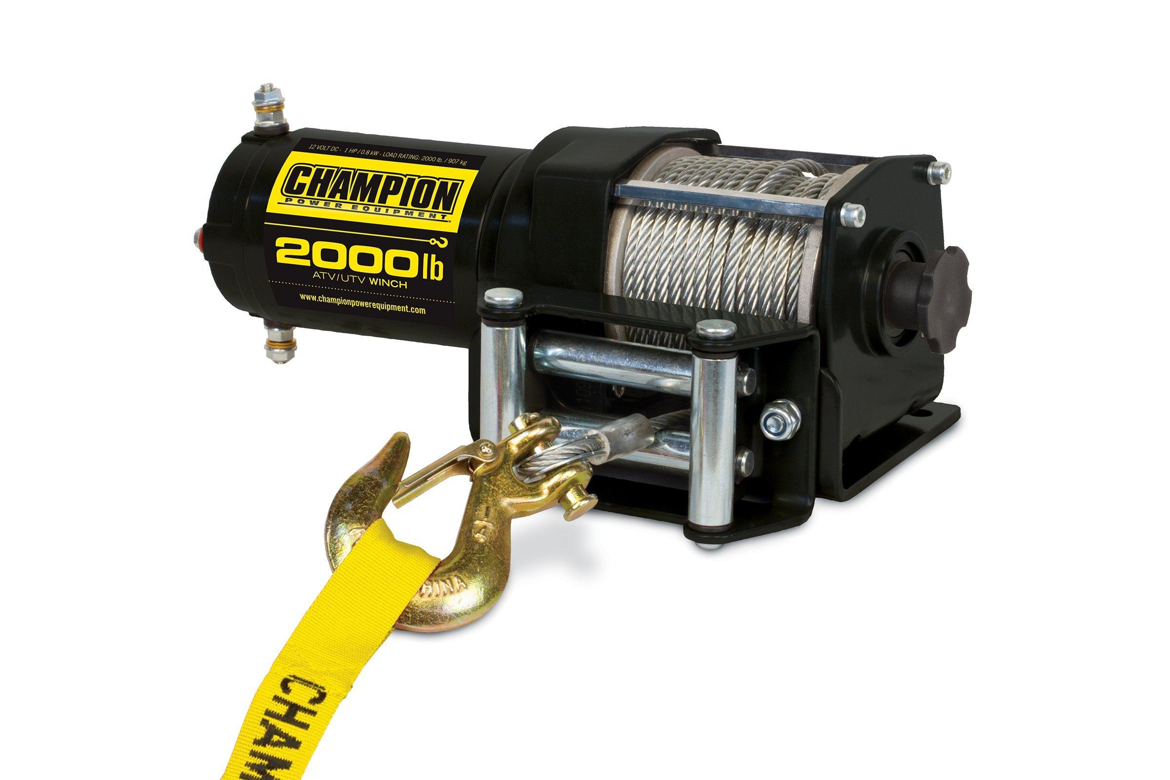 Champion 2000-lb. ATV/UTV Winch Kit