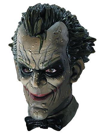 f9f9883b17d5 Amazon.com  Rubie s Costume Batman Arkham City Deluxe Joker Mask ...