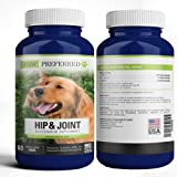 Premium Canine Glucosamine Chondroitin with MSM for Dogs, Great All Natural Beef Liver Chews Supplement for Hip and…