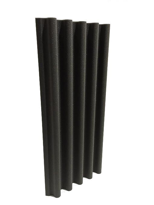 Paquete de 2 trampas de graves, hechas de espuma acústica con forma de onda, tamaño de 91,5 cm, de Advanced Acoustics: Amazon.es: Instrumentos musicales