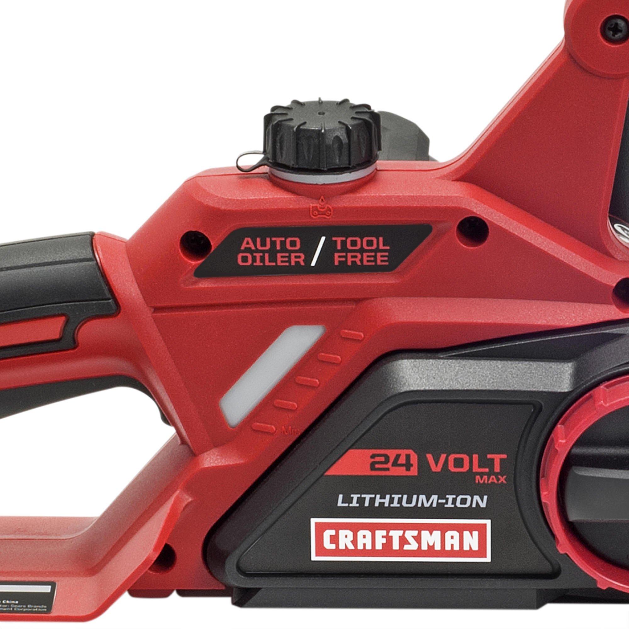 Craftsman 24V Max Li-Ion 10'' Cordless Chainsaw by Craftsman! (Image #3)
