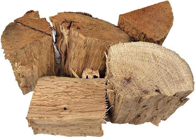 Taille des Morceaux 5-10cm Smokey Olive Wood 5Kg de Bois de citronnier pour barbecues et fumoirs