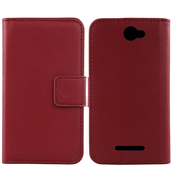 separation shoes d40fc de71d Amazon.com: Gukas Design Genuine Leather Case for Cat S31 4.7 ...