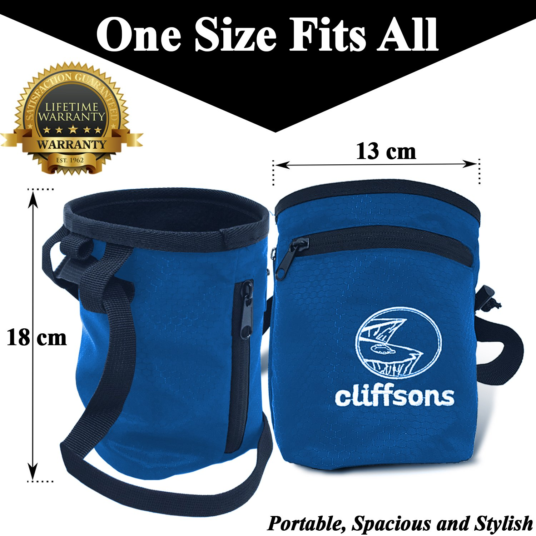 Deportes Cliffsons Bolsas de Tiza para Escalada Gimnasia