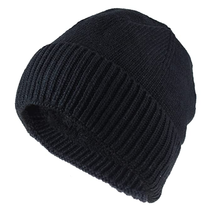 7b851346b JAKY Global Unisex Thick Cable Knit Beanie Hat Winter Cap Skull Windproof  Men Women