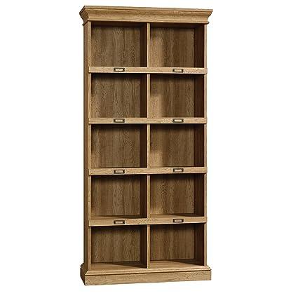 Remarkable Sauder 414725 Barrister Lane Bookcase L 35 55 X W 13 50 X H 75 04 Scribed Oak Finish Home Interior And Landscaping Oversignezvosmurscom