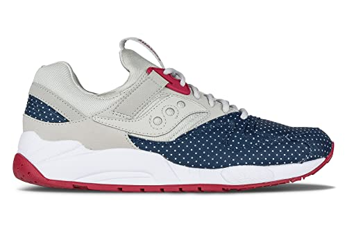 15087eff Saucony Grid 9000 Microdot Mens Fashion-Sneakers S70256-1_9. 5 - tan/Light  / Blue: Buy Online at Low Prices in India - Amazon.in