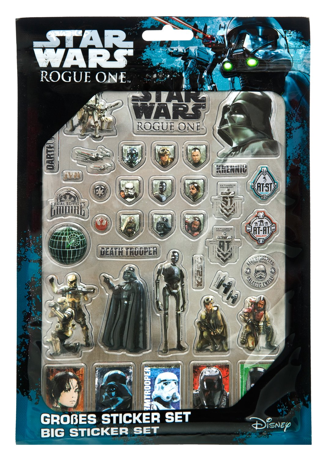 Undercover nbsp;Disney Star Wars Rogue One - Carpeta escolar: Amazon.es: Juguetes y juegos
