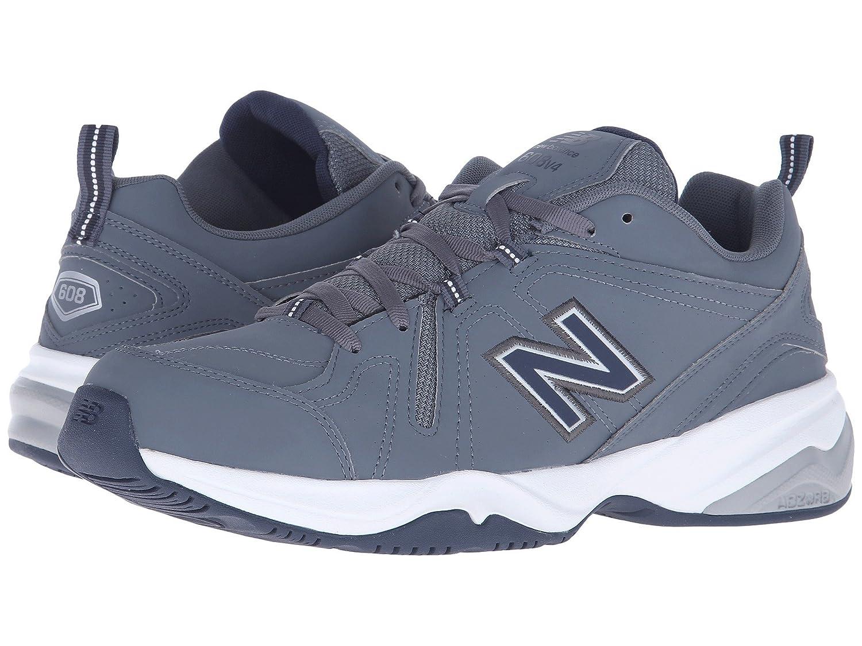 ふるさと納税 (ニューバランス) New Balance メンズウォーキングシューズ靴 MX608v4 Lead/Navy 9.5 (27.5cm) B07892B2TC 4E New 4E - Extra Wide B07892B2TC, 北巨摩郡:049761d7 --- arianechie.dominiotemporario.com