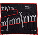Sunex 9917MPR Sunex 9917MPR Metric Combination Wrench Set, 25-Piece