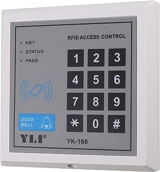 UHPPOTE Teclado digital independiente RFID de 125 KHz ...
