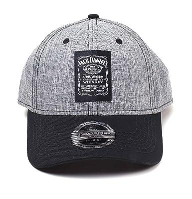 Jack Daniels Gorra de béisbol JD Label Classic Logo Nue ...