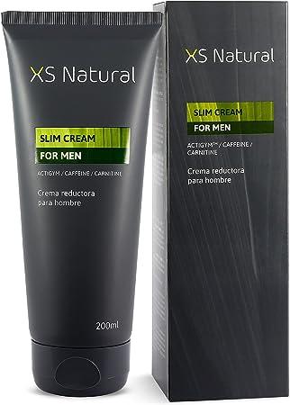 XS Natural for Men - Crema Reductora y Quemagrasas para hombre