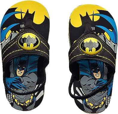 ACI International Batman Justice League Light-Up Flip Flops Beach Sandals with Lights