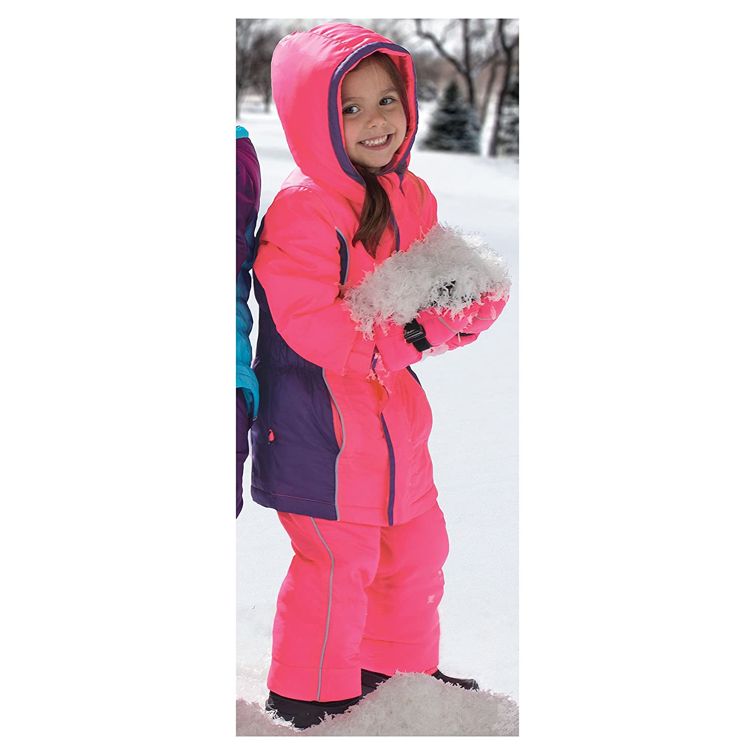 6e59548421f8 One Step Ahead Cozy Cub Little Girl Waterproof Thinsulate Grow-With ...