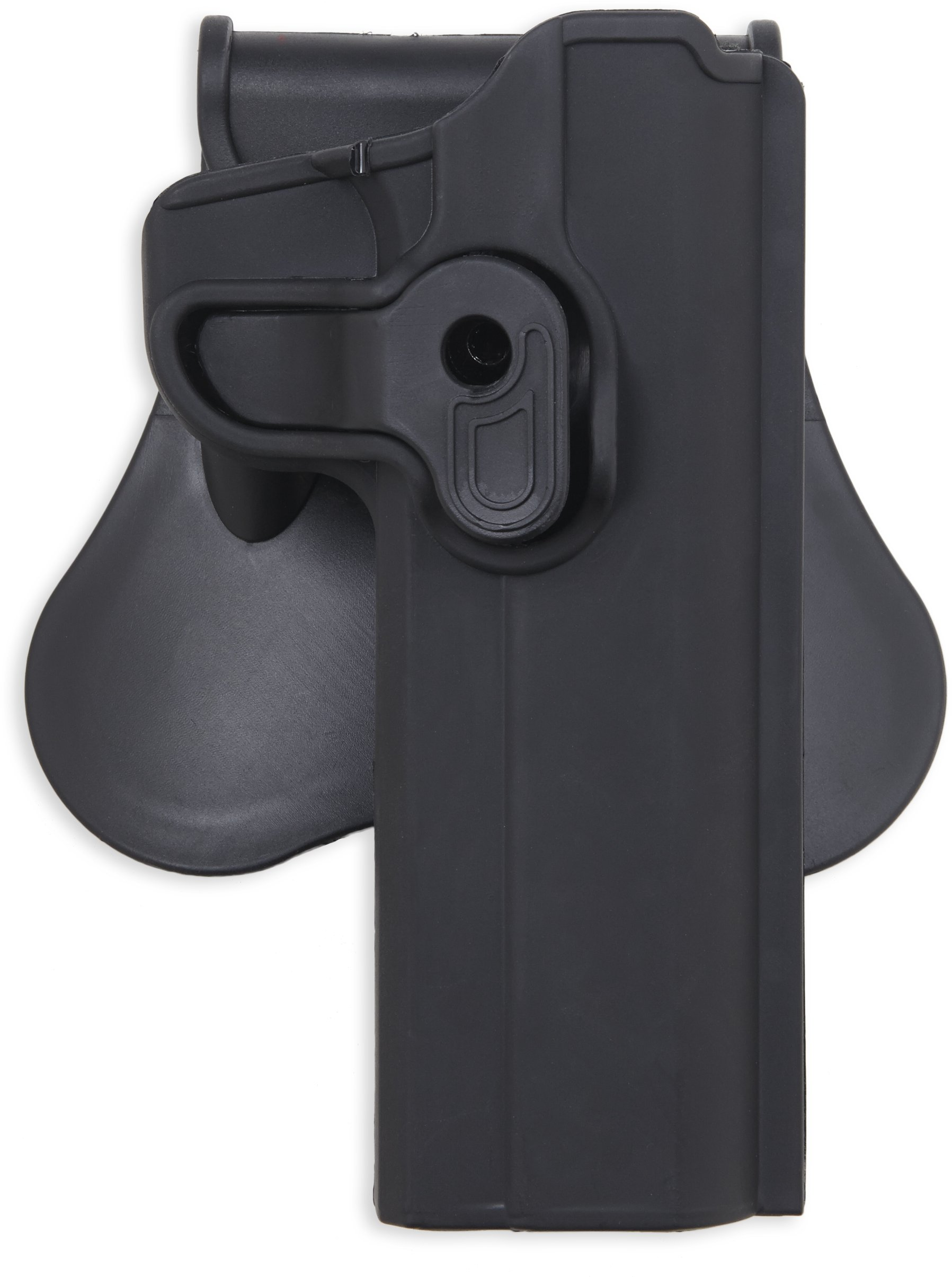 Bulldog Cases Rapid Release Polymer Holster (Fits S&W J Frame with 2'' Barrels), Black by Bulldog Cases