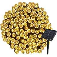 Yasolote 22M Guirnalda de Luces Solares 8 Modos